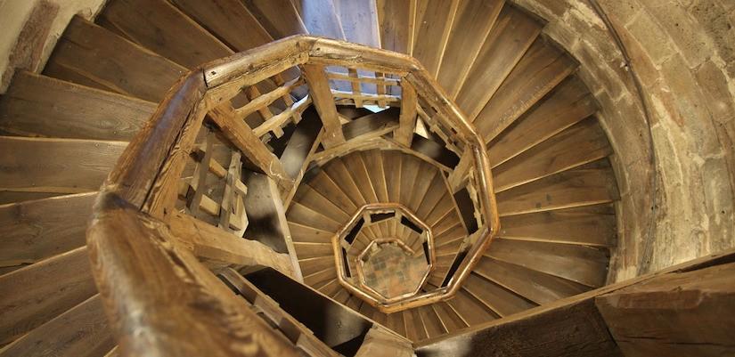 """""""Der Fortschritt ist zwar eine Treppe"""""""